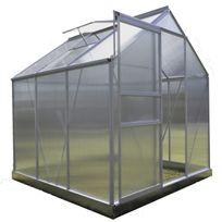 Chalet-jardin - Serre de Jardin 3.61 m² Polycarbonate avec Base