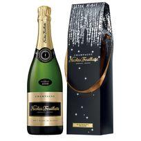 Champagne Nicolas Feuillatte - Blanc de Blancs 2008 avec etui fraicheur Lot de 6 Bouteilles