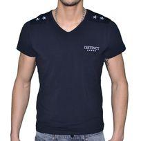 Distinct By Rohff - Distinct - T Shirt Manches Courtes - Homme - Cartel - Noir