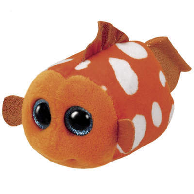 Teeny Tys-Peluche Walter le poisson rouge 8 cm