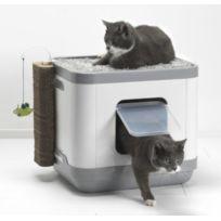 litiere chat fermee pas cher