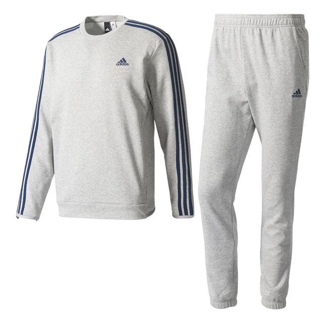345d0df3e47 Adidas - Survêtement Chill Out Gris - 204 - pas cher Achat   Vente ...