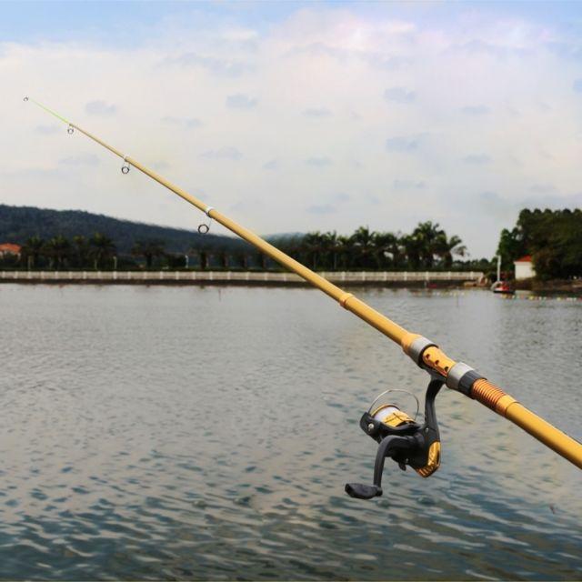 Wewoo - Cannes à pêche Fournitures de de haute qualité 4 segments à + Reels  Tool 241efb8a3e1
