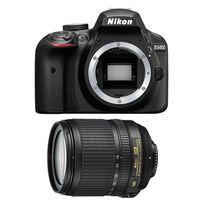 NIKON - appareil photo reflex - d3400 + objectif 18-105