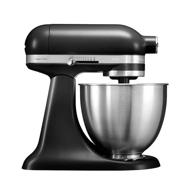 kitchenaid mini robot p tissier multifonction 250w noir r glisse 5ksm3311xebm achat. Black Bedroom Furniture Sets. Home Design Ideas