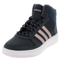 timeless design 3cc8b e5f44 Adidas - Chaussures mid mi montantes Hoops mid 2 nav mau Bleu 35919
