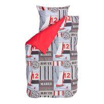 Bink Bedding - Housse de couette Voilier - rouge