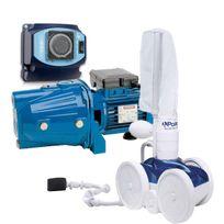POLARIS - pack complet robot de nettoyage 280 spécial chlore ou brome avec surpresseur et coffret - 280 + cam100 + coffret