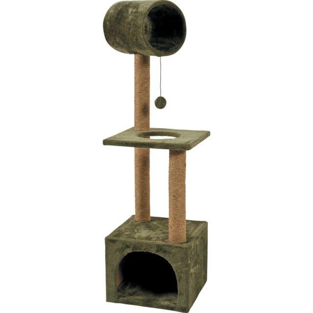 zolux arbre a chat play kaki pas cher achat vente arbre chat rueducommerce. Black Bedroom Furniture Sets. Home Design Ideas