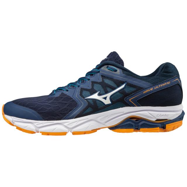 look for 3e19b 59d01 Mizuno - Mizuno Wave Ultima 10 Bleue Et Orange Chaussures de running homme