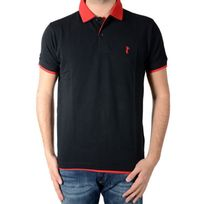 Marion Roth - Polo P1 Noir / rouge