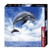 Heye - Puzzle 1000 pièces carré Edition Weingarten Andy Rouse : Dauphin