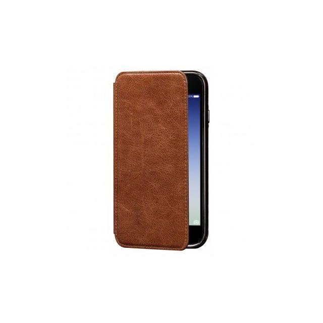 iphone xr coque cuir marron