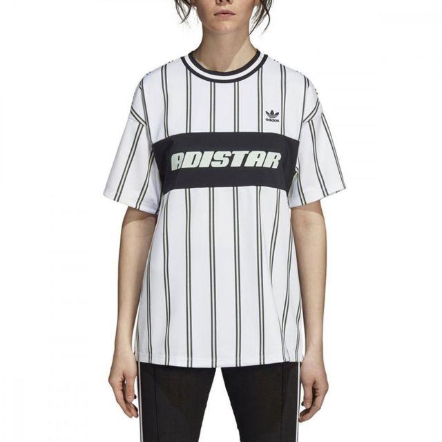 ADIDAS T-shirt Noir et blanc Femme Originals Noir 34