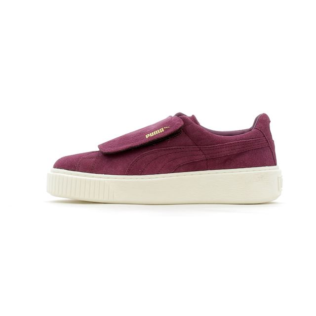 competitive price 398c7 3f4c0 Puma - Baskets basses Puma Suede Platform Big Velcro