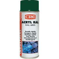 Crc - Peinture acrylique Aérosol - Vert mousse - 520ml/400ml