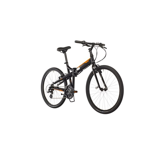 "Tern - Joe C21 - Vélo pliant - 26"" orange/noir"