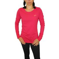 Lotto - Tee shirt manches longues indy ii rose