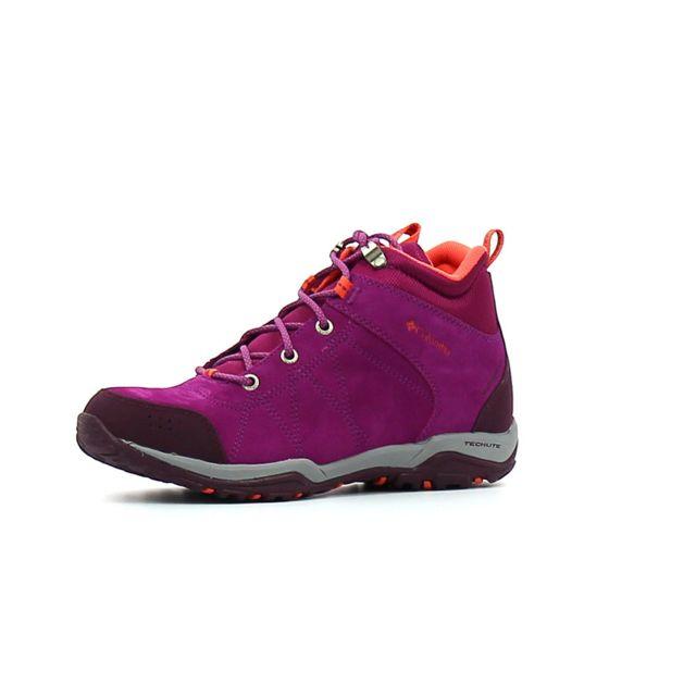4eb60ebf3e9e6 Columbia - Chaussure randonnée femme Fire Venture Mid Waterproof - pas cher  Achat / Vente Chaussures grande rando - RueDuCommerce