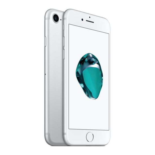 APPLE - iPhone 7 - 32 Go - Argent - Reconditionné