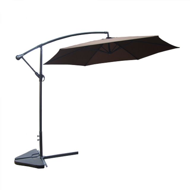 soldes concept usine porticcio chocolat parasol d port 300cm pas cher achat vente. Black Bedroom Furniture Sets. Home Design Ideas