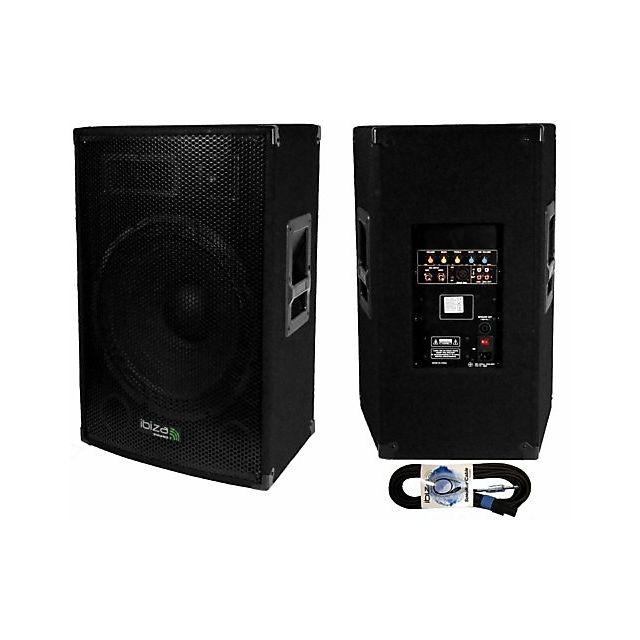 Ibiza Enceinte amplifiée 800W + passive 700 W