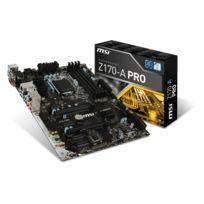 MSI - Carte mère Z170-A PRO - Chipset Z170 - Socket 1151