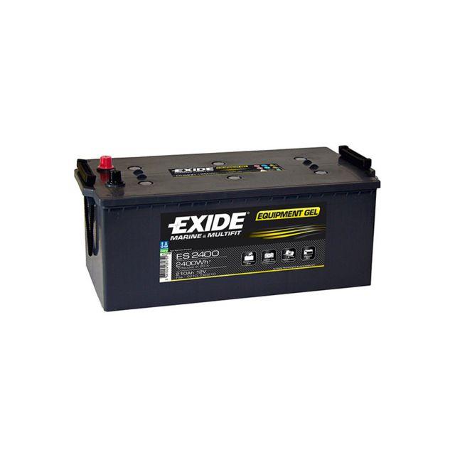 BATTERIE EXIDE DUAL AGM EP2100 12V 240AH 900A Batteries à