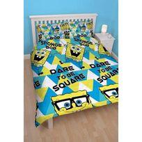 Bob L'EPONGE - Parure de lit double Bob l'éponge Happy