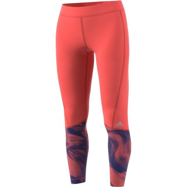 ff440cb5253 Adidas - Tight femme Techfit Long - pas cher Achat   Vente Tee-shirts