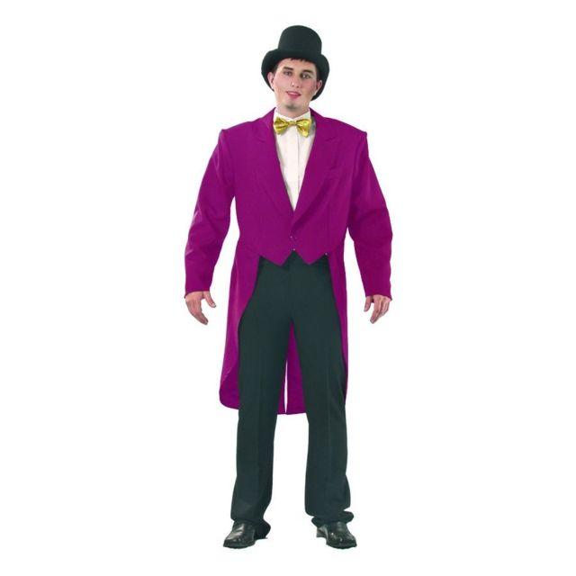 Frac gabardine bordeaux pour homme - pas cher Achat   Vente Accessoires  déguisements - RueDuCommerce e2ec78500a8
