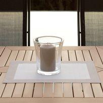Asa - Set de table uni Pvc encadrement contrasté 33x46cm - lot de 2 Tops