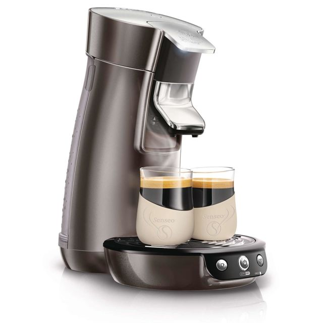 PHILIPS cafetière à dosettes 1bar 1450w platine - hd7835/11