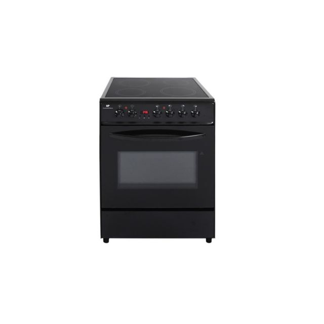 Kuvings Continental Edison - Cuisiniere Vitroceramique - 60x60 - Multifonction - Catalyse - Minuteur - Classe A - Timer Digital