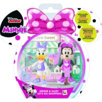Pack de 2 figurines Minnie & Daisy - Shopping - 182547