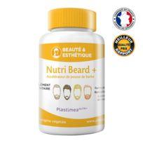 Nutrimea - Nutri Beard+ !! 1ER Accelerateur De Pousse De Barbe FranÇAIS !! Formule Unique Et Dosage Optimal Pour 100% Efficacite Ingrédients 100% naturels 90 gélules d'origine végétale