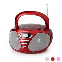 Audiosonic - Cd-1568 Radio stéréo Cd Rouge