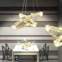 Double W En Luminaires Serie Lampe Crystal Led Anneau Suspendu Freetown 23 Sublime 6 À wP80knOXN