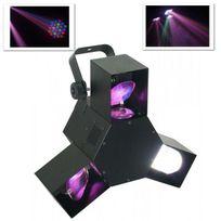 BEAMZ - LED Triple Flex Jeu de Lumières LED 8 canaux DMX