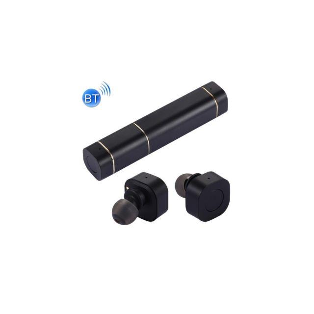 Auto-hightech Écouteurs Stéréo sans fil Bluetooth style rouge à lèvres de mode avec Micro, prise en charge de l'appel main libre pour