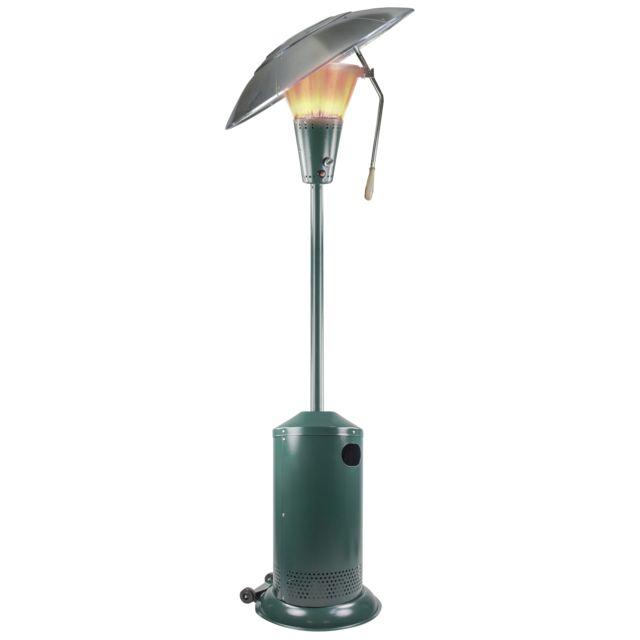 primagaz parasol chauffant orientable focus vert pas cher achat vente chauffages d. Black Bedroom Furniture Sets. Home Design Ideas