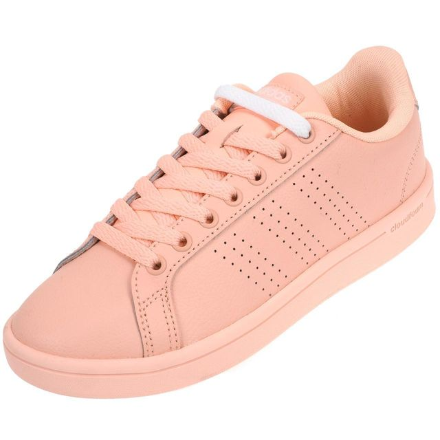 6a11d567f49f9 Adidas Neo - Chaussures mode ville Advantage l rosmochrom Rose 74163 - pas  cher Achat   Vente Baskets femme - RueDuCommerce