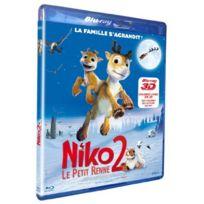 Dvd - Niko Le Petit Renne 2 3d Compatible 2d blu-ray 3d