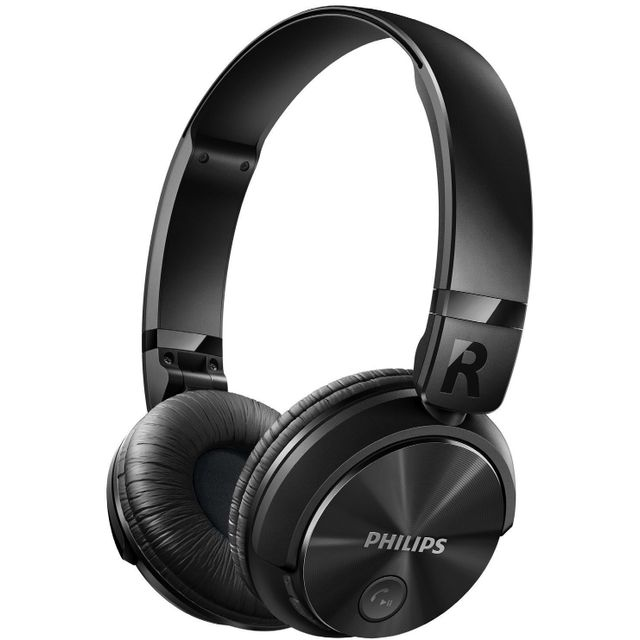 Philips Shb3060BK/00 - Casque Bluetooth Stéréo Inspiration Dj avec Micro