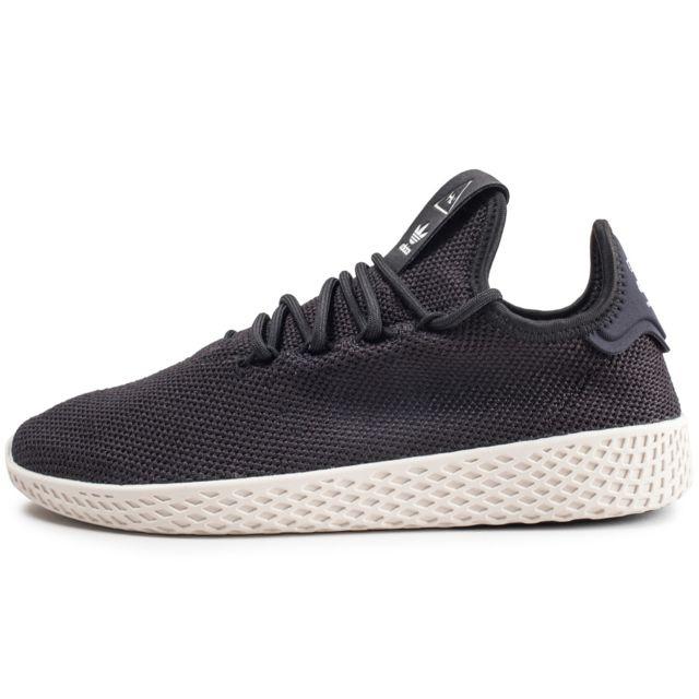 taille 40 1fe52 35ad7 Adidas originals - Pharrell Williams Tennis Hu Noire Et ...