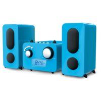 BIGBEN - Micro Chaîne lecteur CD + Stickers - MCD11BLSTICK - Bleu