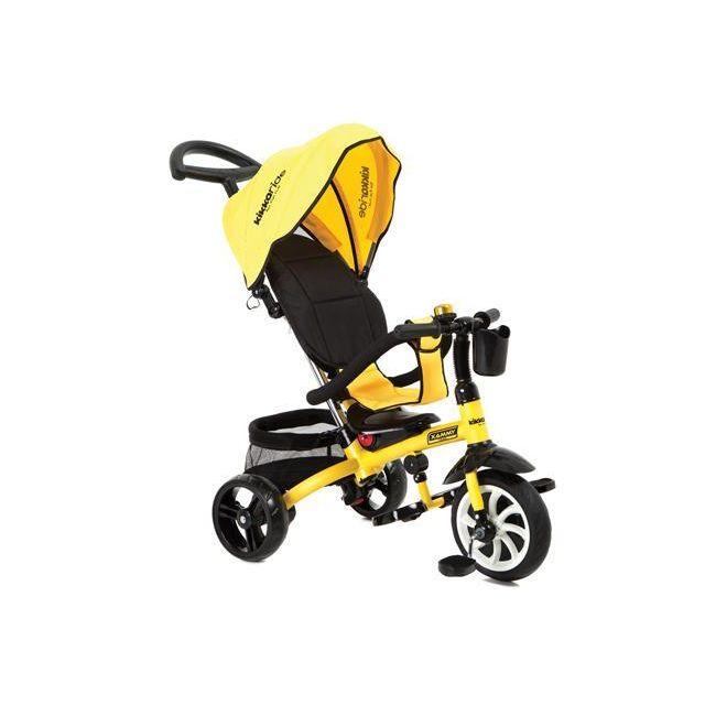Kikka Boo Tricycle évolutif pour bébé/enfant Xammy Jaune