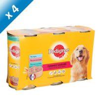 Pedigree - Terrines saveurs 3 variétés pour chien 3 x 125g -4