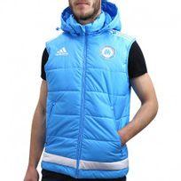 Adidas originals - Om Padded Vest M Tur - Doudoune Football Olympique de Marseille Homme Adidas