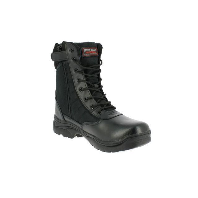 Safety Jogger Chaussures Tactic 1 zip Noir normées Sra